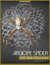Argiope-Spider-orb-web-structure-sofias-parents-Nicholas-Hellmuth-FLAAR-Reports-cover