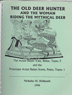 The Old Deer Hunter Woman Riding Mythical Deer-web
