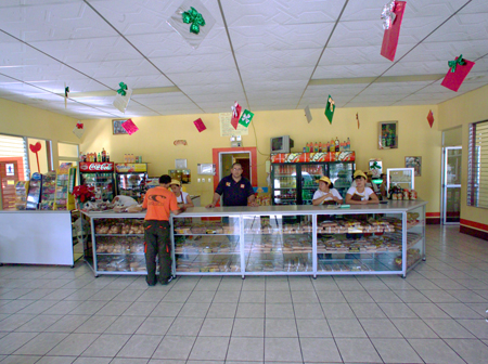 Restaurant inside view
