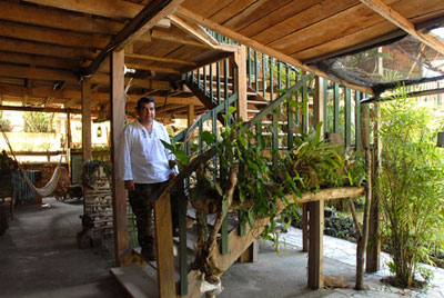 Hotel Hermano Pedro Owner Don Arturo Maya-archaeology