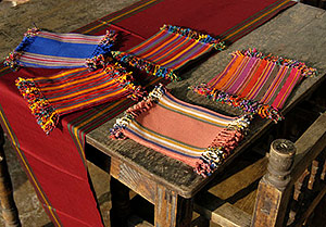 Handwoven handicrafts