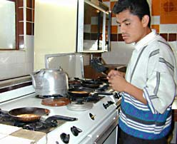 Guatemala City Hotels kitchen