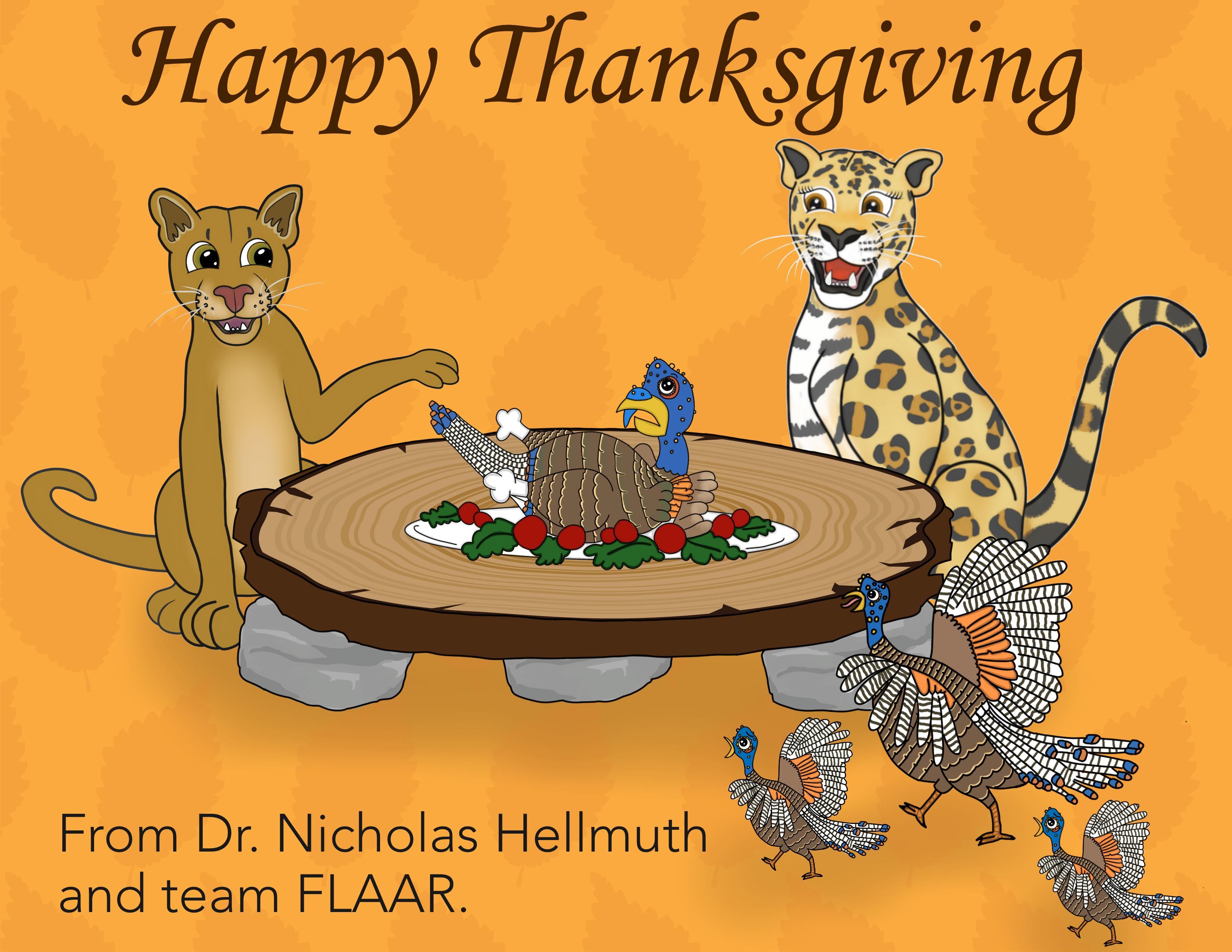 Happy thanksgiving 2016 message from Dr Nicholas FLAAR Reports MQ