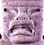 typical olmec face