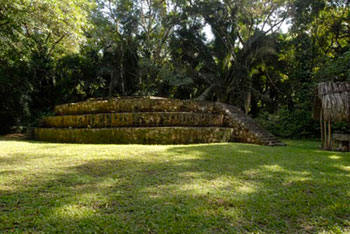 Ceibal site maya archaeology