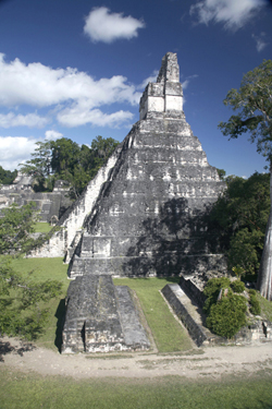 Temple I Great Jaguar Tikal Guatemala Maya Archaeology