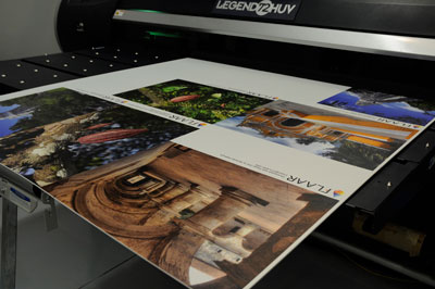LexJet Legend UV Printer Printing Samples Cacao