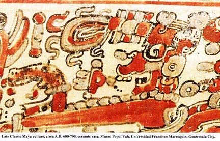 Red band (late classic) Maya-archaeology
