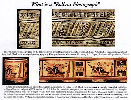 What is a 'Rollout Photograph' Maya-archaeology