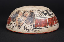 armadillo painting on a bowl armadillo painting