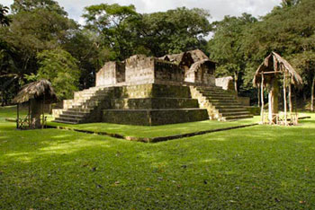 Maya archaeology in Ceibal site